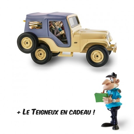 Spirou et Fantasio Jeep CJ5 1960